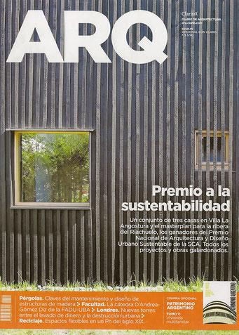 Diario ARQ Clarín / publicación Plan Maestro Club de Campo.