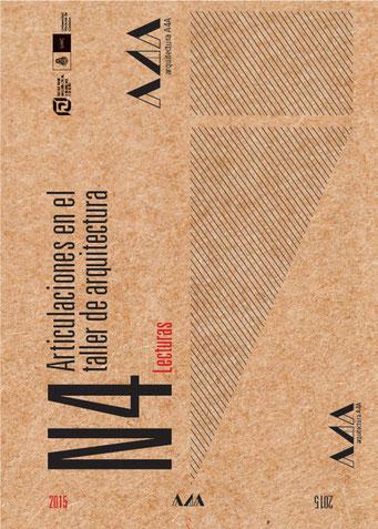 N4. Articulación en el taller de arquitectura. / Libro de cátedra Arquitectura 4A FAUD UNC.