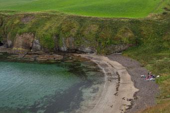 Cullykhan Bay, Pennan, Aberdeenshire