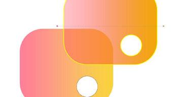 Farbverlauf- und Transparente Schraffierung