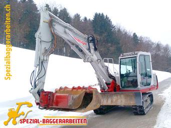 Spezial-Baggerarbeiten Adrian Krieg GmbH  Telefon 079 586 32 47 Fuhrpark