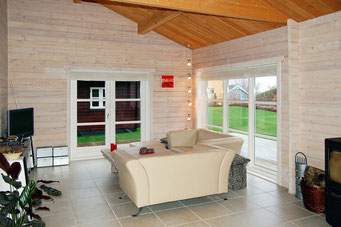 interieur chalet en kit