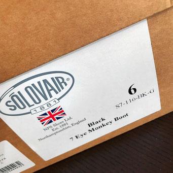 👞 Solovair - オリジナル・ボックス