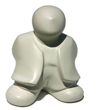 sculpture figurative en béton