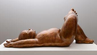 Paisaje         -           bronce          -           36x86x32 cm.