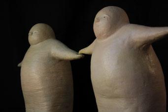 amistad  -  cerámica gres