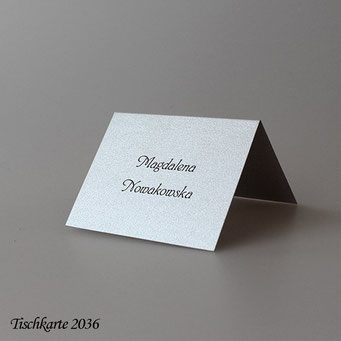 Tischkarte