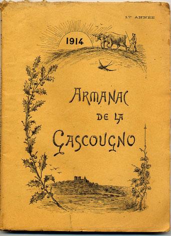 Armagnac de la Gascougno ; 1918