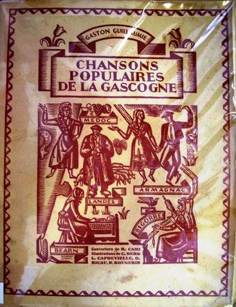 Chansons populaires de la Gascogne ; ed Aquitaine 1941 et Chansons et danses de la Gascogne ; Gaston Guillaumie ; ed. Delmas 1945.