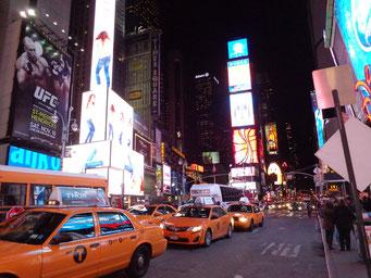 Times Square et ses lumières