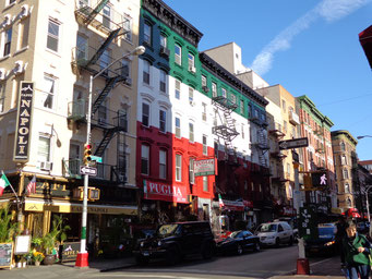 Le joli quartier de Little Italy