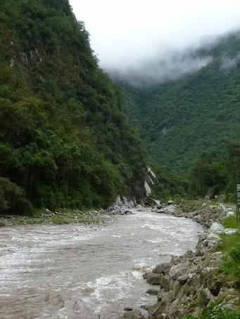 Fantastische Flusslandschaft