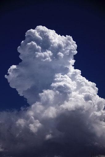 Eindrückliche Wolken
