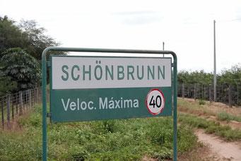 Wie die Geschwindigkeitsbeschränkung verrät: nicht in Österreich...