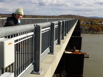Fussgänger-Brücke, Poughkeepsie, New York
