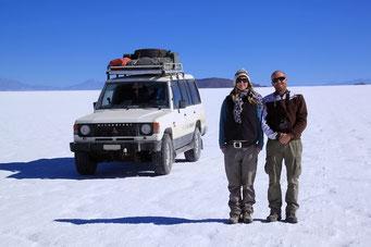 Salar de Uyuni - Jaz & Luc