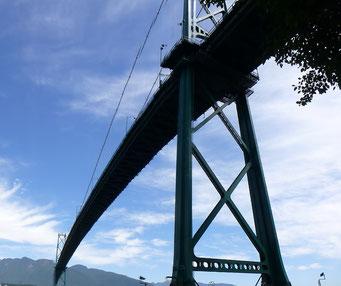 Eindrückliche Brücke