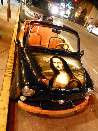 Aufgemotzter Klassiker (Fiat 500)