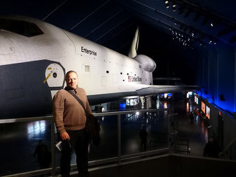"Space Shuttle ""Enterprise"", Interpid Museum, New York City"