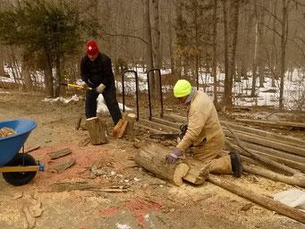 Es braucht noch mehr Feuerholz....