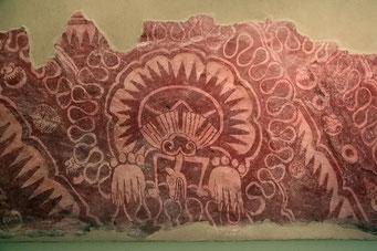 Teotihuacan, sehr gut erhaltene Maya Anlage