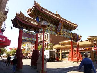 Chinatown in Victoria, Vancouver Island