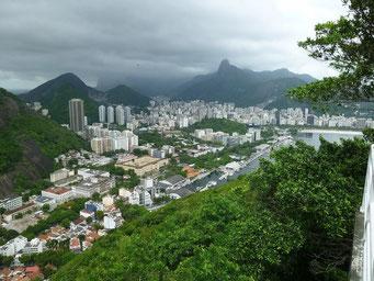 Fantastische Aussicht über Rio