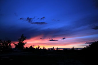 Toller Sonnenuntergang