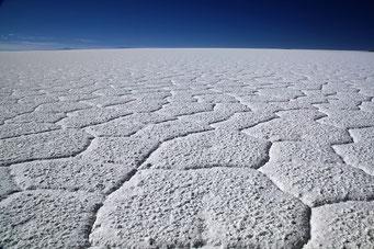 Salar de Uyuni - ... keine Angst es bleibt noch genug übrig...