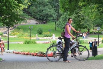 Mit dem Velo durch Riga