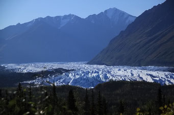 Matanuska Glacier, Glennallen Highway, Alaska
