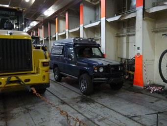 Gut geparkt ist halb verzurrt
