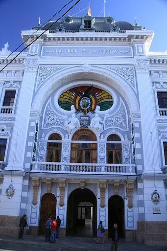 Sucre, Gebäude der Provinzregierung