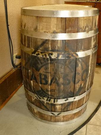 Avery Island - das Pepperoncini-Mouse ruht 3 Jahre in Whiskey-Fässern von Jack Daniels