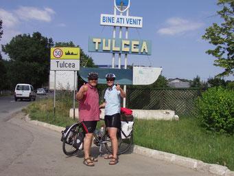 In Tulcea - kurz vor dem Ziel
