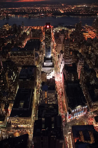 Aussicht vom Empire State Building, New York City