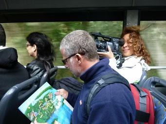 Fahrt zu den Iguazu Fälle