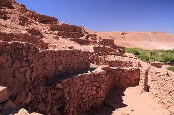 San Pedro, Alte Indianer Siedlung