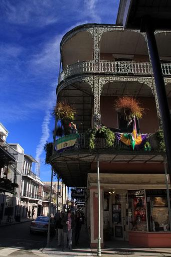 New Orleans - Kunst in Gusseisen