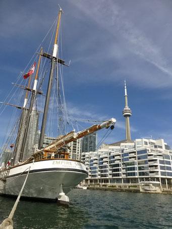 Hafenfront von Toronto, Ontario