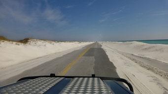 Gulf Islands National Shore, FL, USA