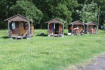 Camping-Häuschen bei Zawal...