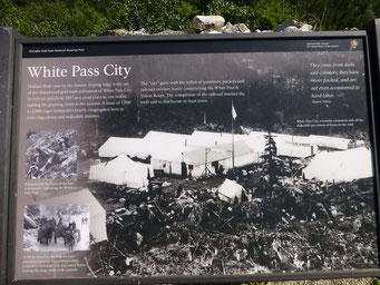 Auf den Spuren des Klondike-Goldrausches, White Pass, Alaska