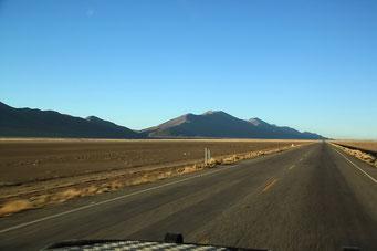 Oruru - Uyuni - Endlich wieder freie Sicht und freie Fahrt nach Süden