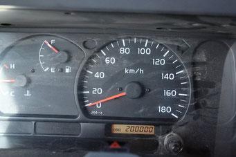 ... sein 200'000 km Jubiläum