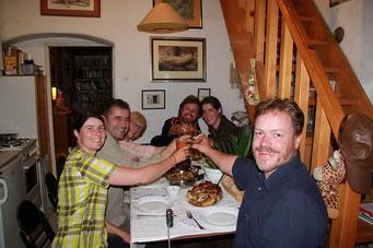 1 Woche Familienparty bei Slobodan, Vesna, Anna und Igor