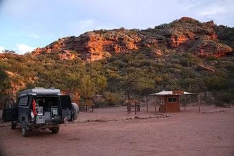 Camp in im N.P.