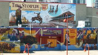 Wandgemälde, Calgary