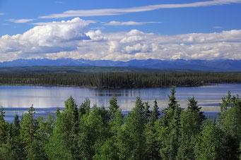 Auf dem Alaska Highway, Alaska