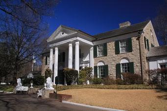 In diesem Haus wohnte Elvis, Granceland, Memphis